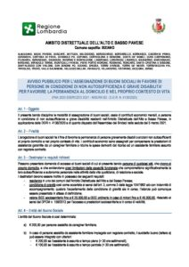 BANDO BUONI SOCIALI – FNA 2020