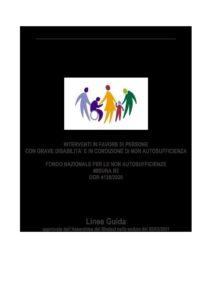 LINEE GUIDA PER ACCESSO A STRUMENTI MISURA B2 – FONDO NON AUTOSUFFICIENZA 2020