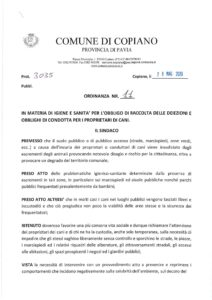 Ordinanza 11