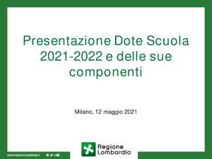 Presentazione+Dote+scuola+2021-2022